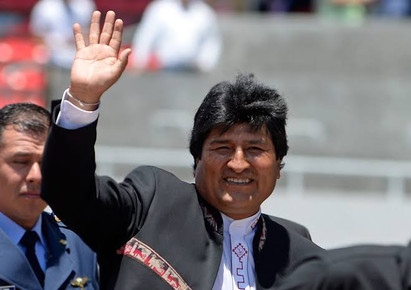 APOYO A BOLIVIA DESDE EU
