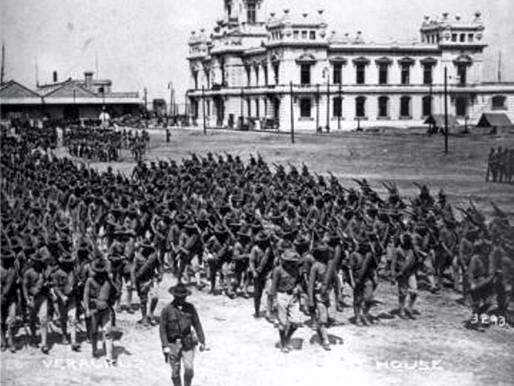 21 de abril: Invasión en Veracruz por Estados Unidos en 1914.