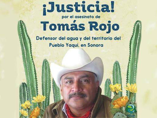 ASESINATO DE TOMÁS ROJO. JUSTICIA AL PUEBLO YAQUI.