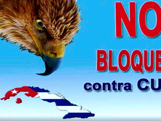 CUBA ENFRENTA EL BLOQUEO