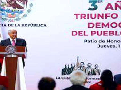 Discurso del presidente Andrés Manuel López Obrador en su Segundo Informe Trimestral 2021