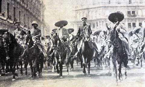 REVOLUCIÓN MEXICANA E INTERVENCIÓN NORTEAMERICANA.