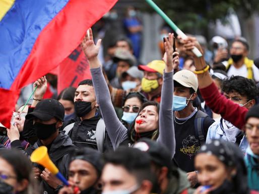 Colombia. Organizados y firmes los colombianos defienden sus derechos