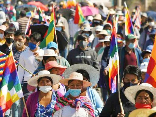 Ante la inminente victoria del MAS en Bolivia