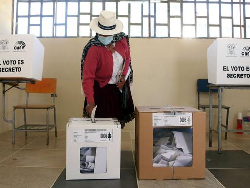 ECUADOR EN ELECCIONES PRESIDENCIALES MARCADAS POR LA PANDEMIA