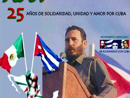 XXV Encuentro Nacional de Solidaridad con Cuba Declaración Final