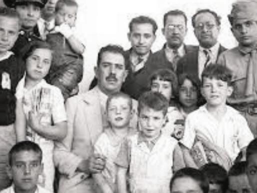 27 DE JULIO DE 1939, LÁZARO CÁRDENAS RECIBE A ESPAÑOLES QUE ESCAPABAN DEL FRANQUISMO.