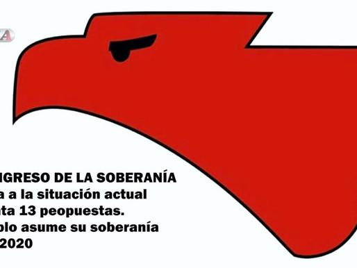 2 DE OCTUBRE, SE REALIZÓ EL VI CONGRESO DE LA SOBERANÍA