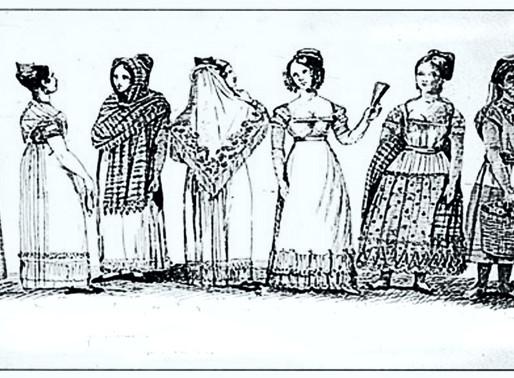 Mujeres en lucha por la Independencia.