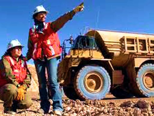 Las mujeres trabajadoras y las mineras de vanguardia