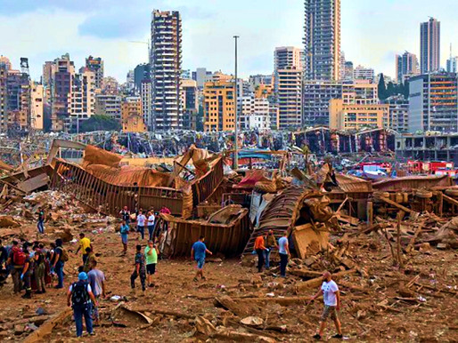 Detrás de la explosión de Beirut