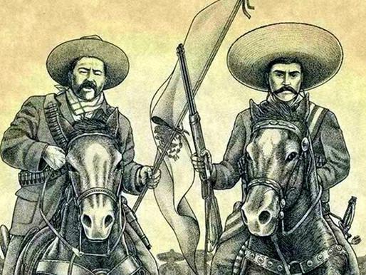20 de noviembre. Aniversario de la Revolución Mexicana.