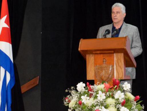 Cuba: Discurso de Díaz-Canel