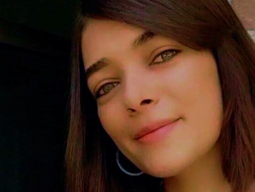 Joven palestina; golpeada, desnudada y torturada, fue condenada a 16 meses de cárcel.