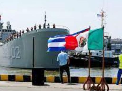 Ayuda humanitaria de México a Cuba