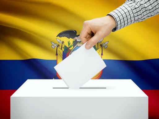 ECUADOR. DISPERSIÓN EN LAS ELECCIONES.