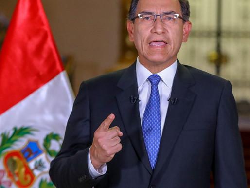 La disolución del Congreso corrupto en Perú