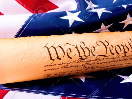 Son Ilusiones que la Constitución de EE. UU. puede resolver los problemas de hoy