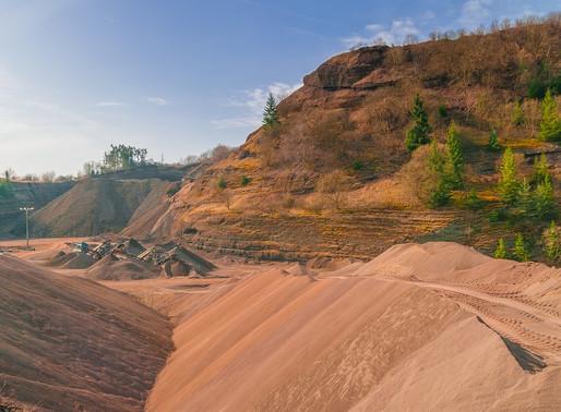 La minería está acabando con el agua