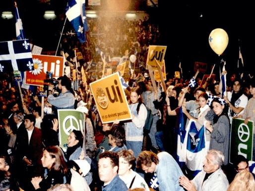 25o Aniversario del Referéndum de Quebec de 1995