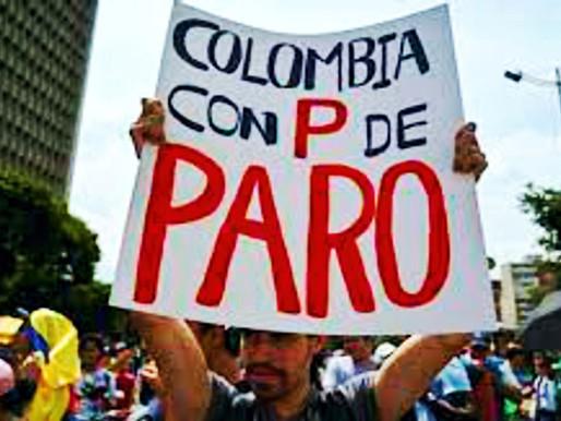 50 días de Paro Nacional en Colombia