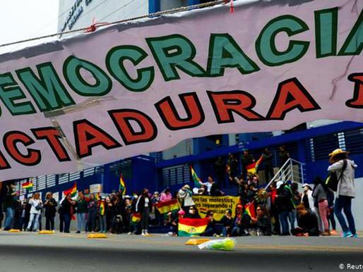 BOLIVIA: INHABILITAN A EVO MORALES
