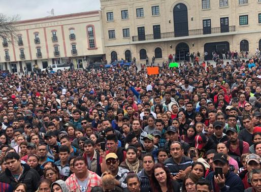 Movimiento obrero en Matamoros