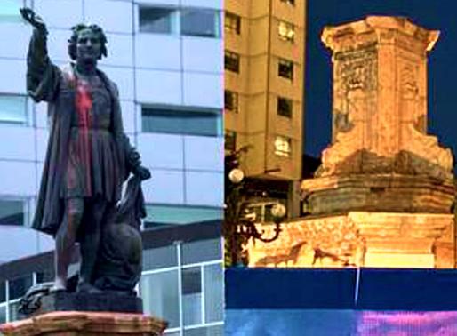 La caída de Cristóbal Colón / Hermann Bellinghausen