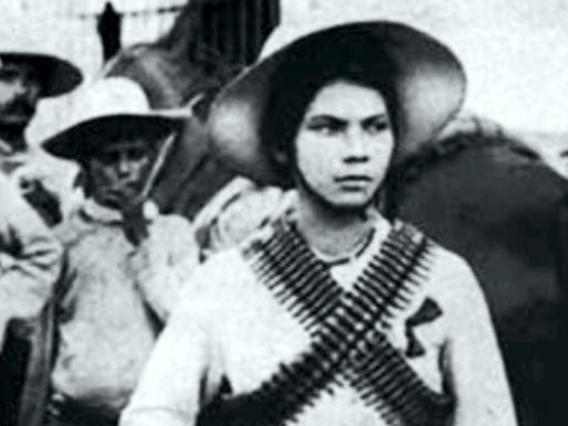 """Valentina Ramírez Avitia, """"La Leona de Norontal""""."""