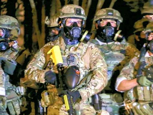 La amenaza del uso de las fuerzas militares y federales tras las elecciones.