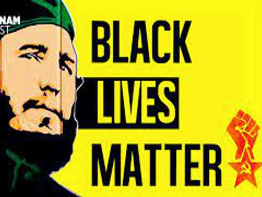 Declaración de Black Lives Matter condenando el embargo de Estados Unidos contra Cuba