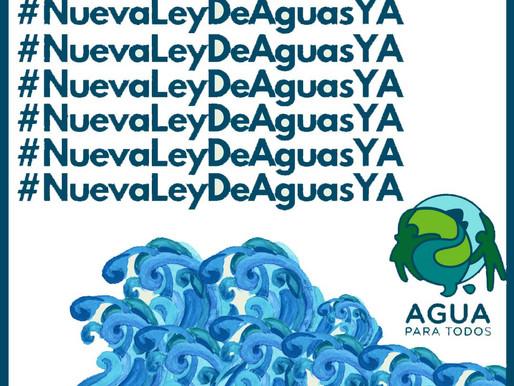 Ley general de aguas, estancada en San Lázaro desde hace 8 años