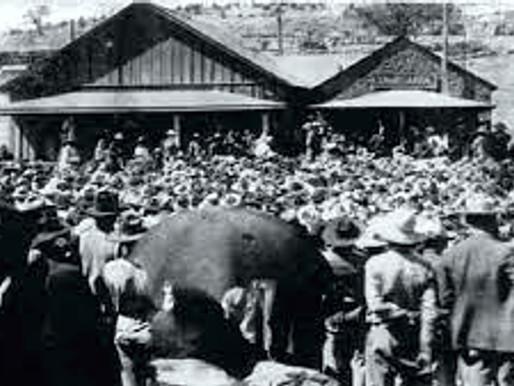 1906 ESTALLA LA HUELGA EN CANANEA