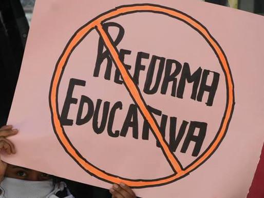 LA LUCHA CONTRA LA REFORMA EDUCATIVA