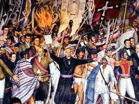 PROCESO DE LUCHA POR LA INDEPENDENCIA DE MÉXICO (1808-1821) (Segunda Parte).