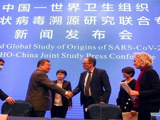 Reunión informativa sobre el Estudio Conjunto China-OMS de los Orígenes de la Pandemia COVID-19