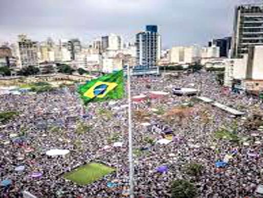 Masivas movilizaciones en Brasil contra políticas de Bolsonaro
