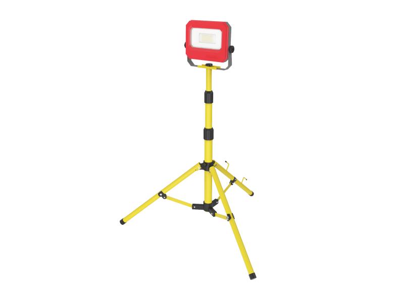 Lumer 20 Watts 110v LED Single Head Telescopic Tripod Flood Light - Code  LM05501 | OnSite Storage