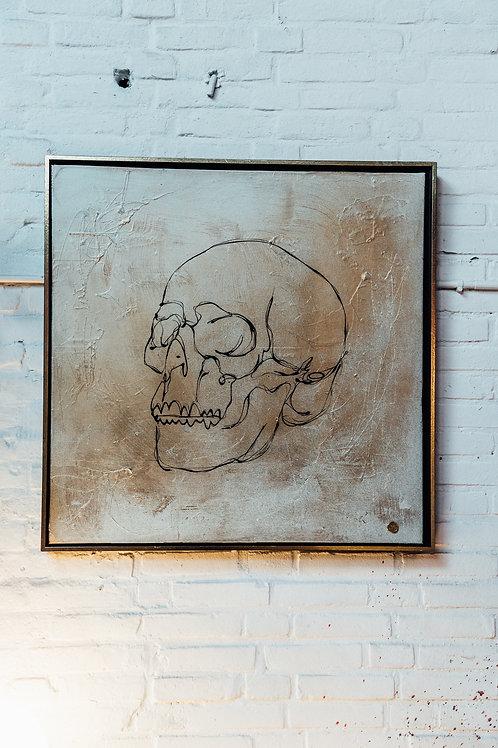 Linchy Gold Skull