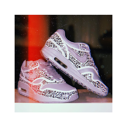 Linchy Doodled Nike AIR MAX 90