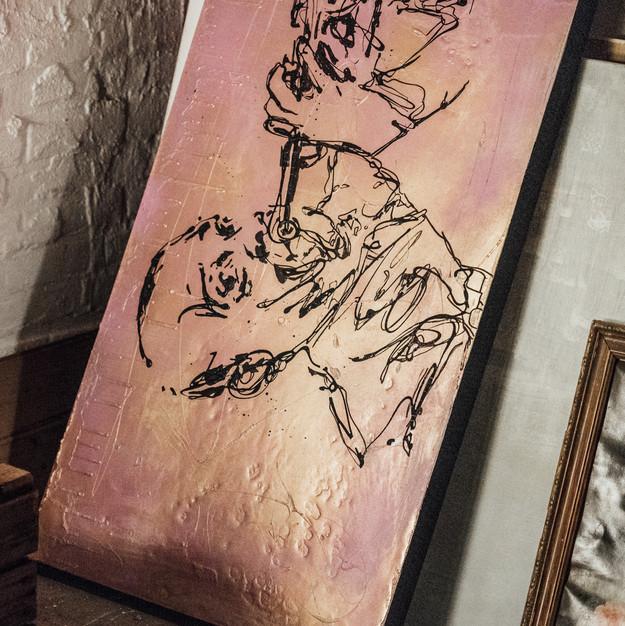 close up- Satchmo @ my Studio