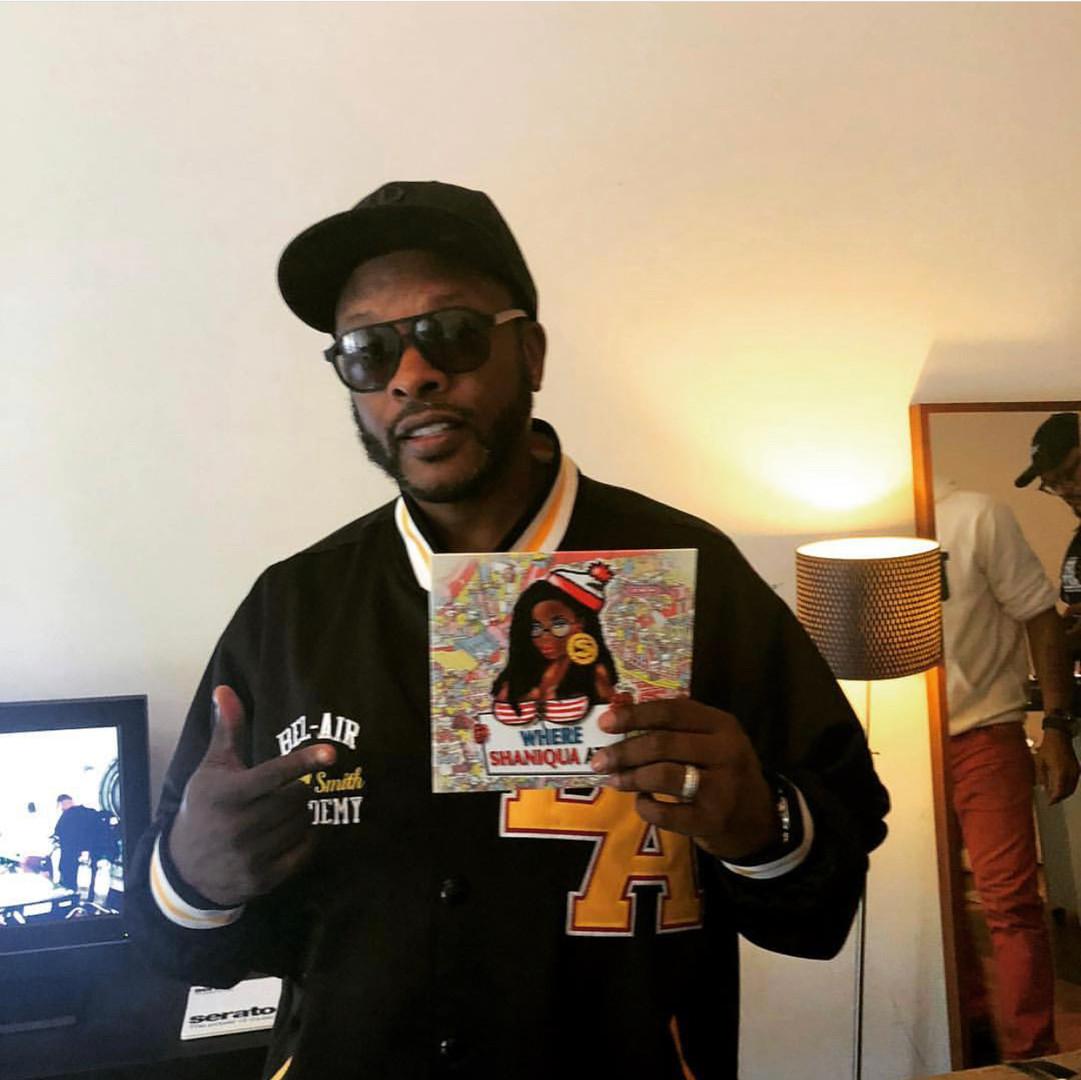 DJ Jazzy Jeff with Linchy album art