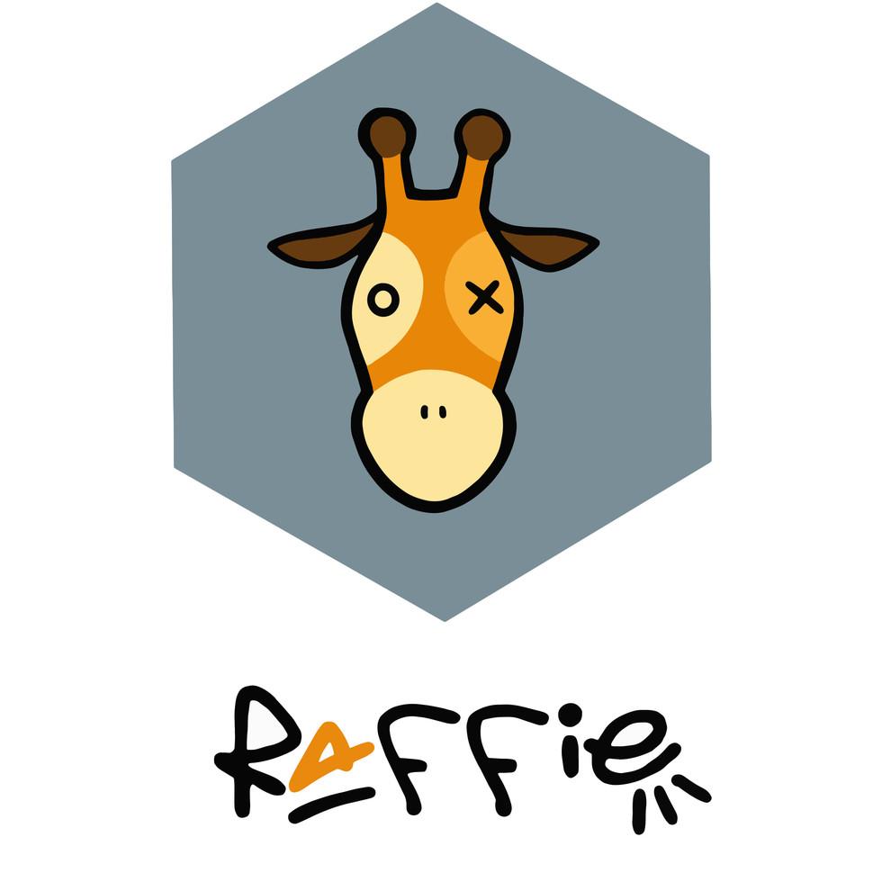 RAFFIE.eu logo by EvLinche