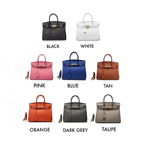 Genuine Leather Birking style bag - Pick your colour!