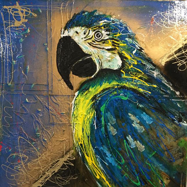 """La Papagena"" painting"