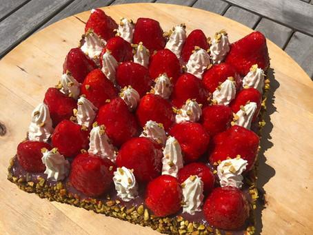 {Concours} Concours Tarte aux fraises revisitée