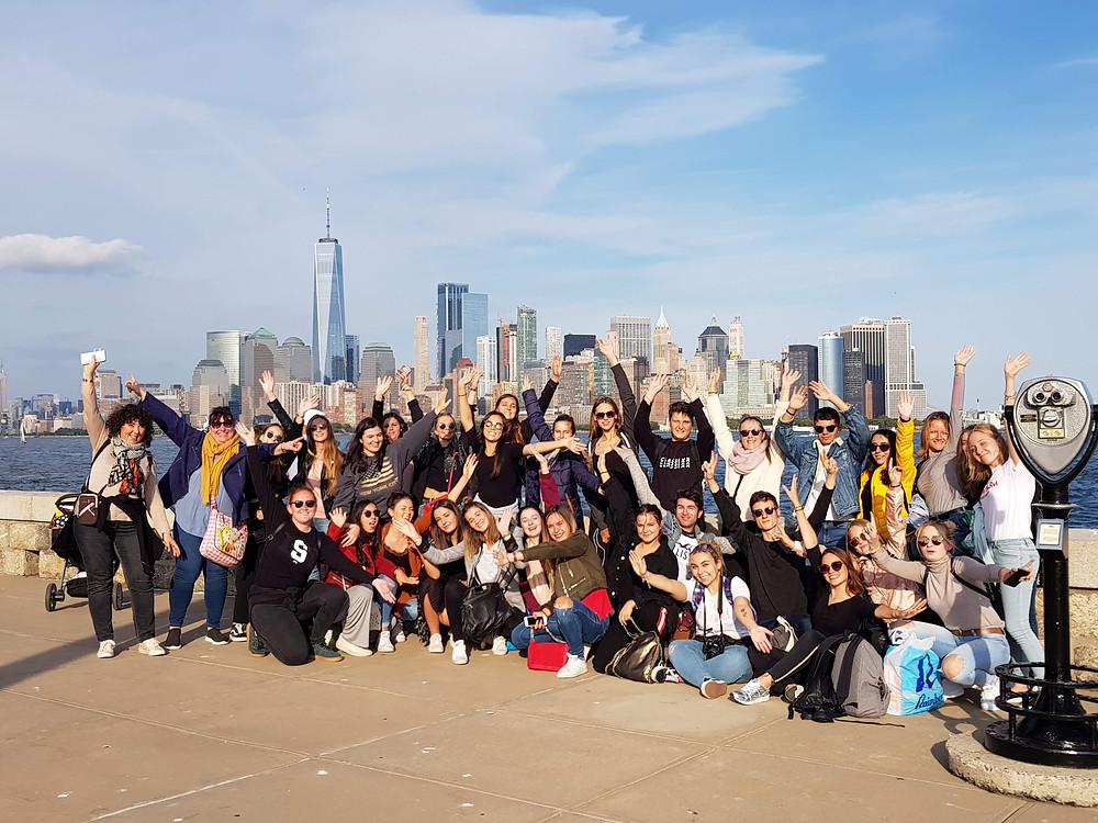 Les BTS Tourisme en voyage d'études à New-York