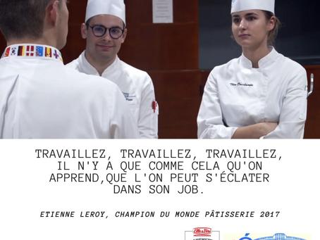 {Partenariat} Démonstration de pâtisserie par Etienne Leroy et Yoan Palamara