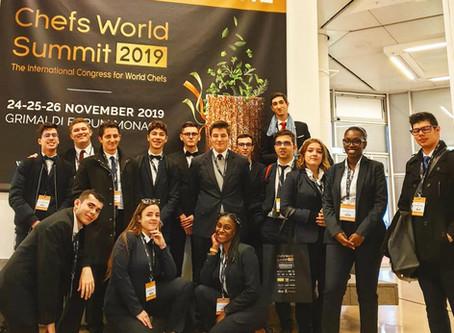 {Partenariat} Sortie Chefs World Summit