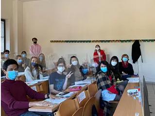 {Erasmus} Deux enseignantes à l'Université pour étrangers de Sienne - Italie